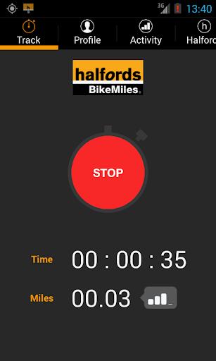 【免費健康App】Halfords BikeMiles-APP點子