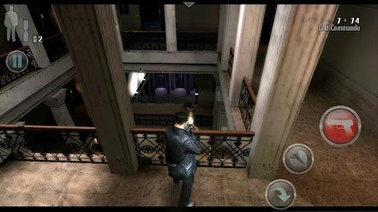 Max Payne Mobile Screenshot