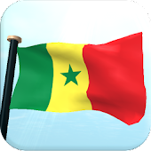 Senegal Flag 3D Free Wallpaper