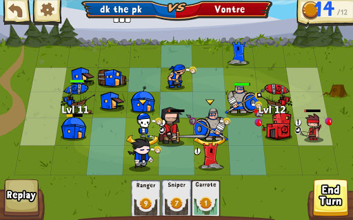 Игра Cards and Castles для планшетов на Android