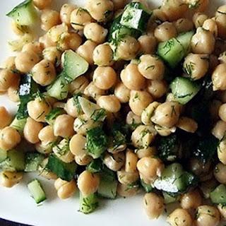Lemony Chickpea Salad.