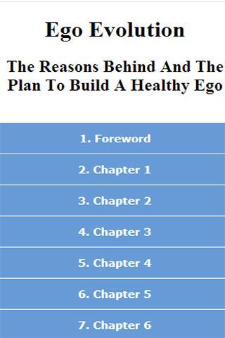 Ego Evolution