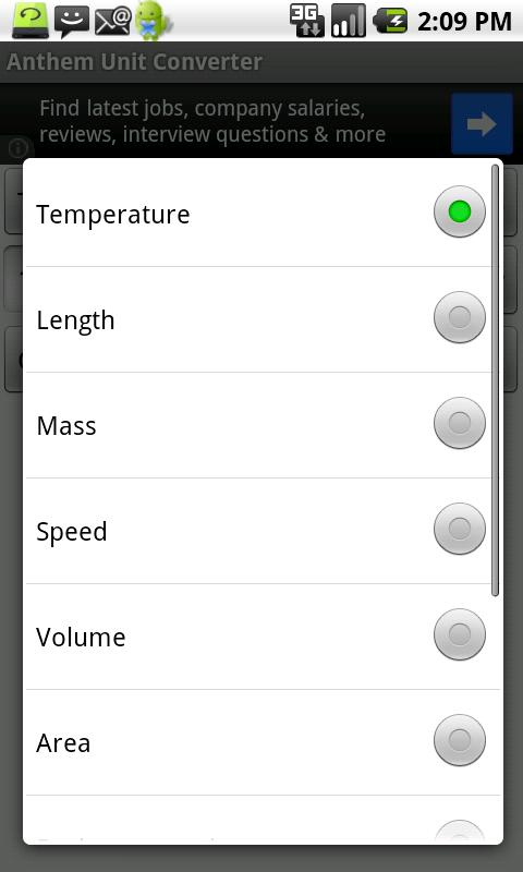 Anthem Unit Converter - screenshot