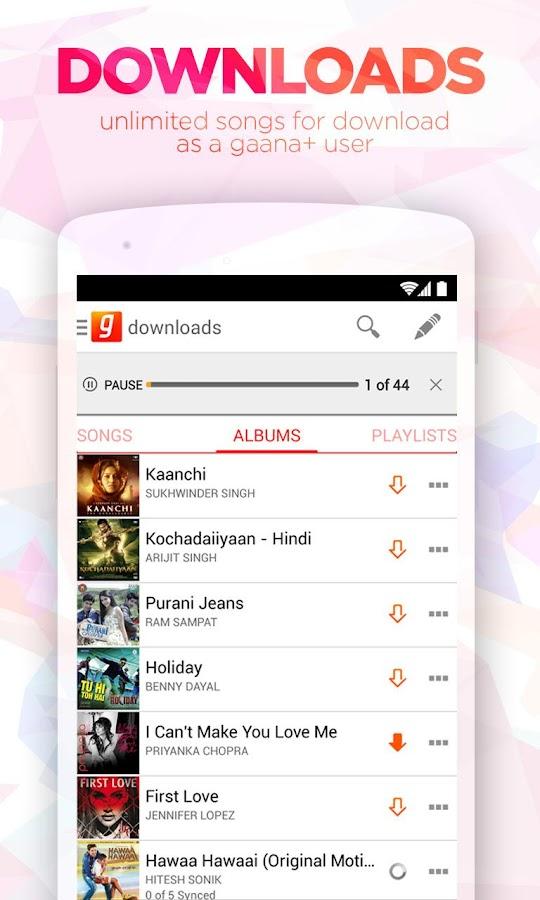 Download gaana com mobile app