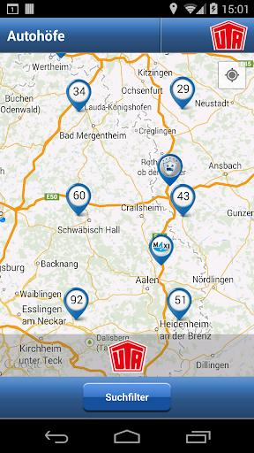 【免費交通運輸App】FERNFAHRER Autohöfe-APP點子