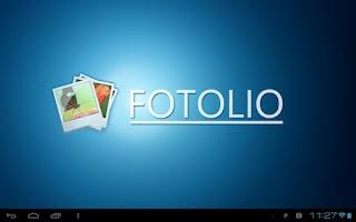 Screenshot of Fotolio