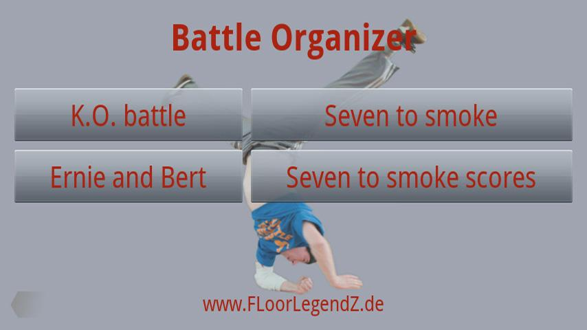 Competition / Battle Organizer- screenshot