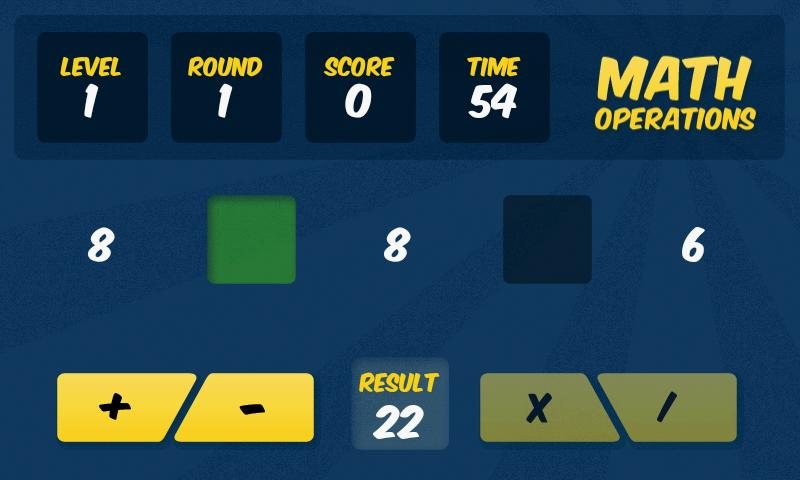Math Operations 4 Kids - FREE - screenshot