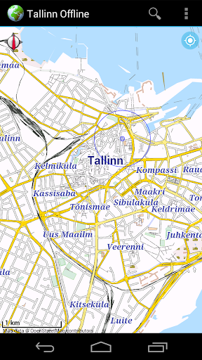 Offline Map Tallinn Estonia