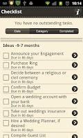 Screenshot of Ultimate Wedding App