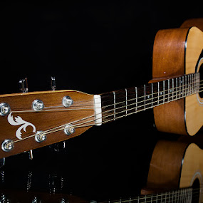 gitara by Sead Kazija - Artistic Objects Musical Instruments ( object, musical, instrument )