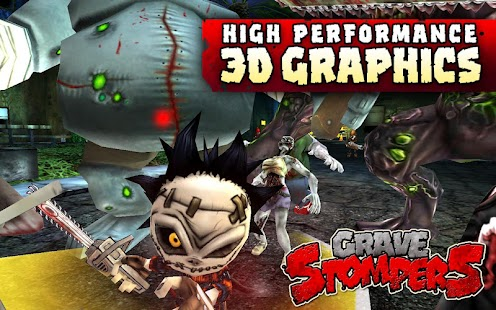 GraveStompers:Zombie vs Zombie - screenshot thumbnail