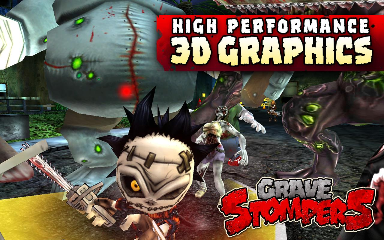 GraveStompers:Zombie vs Zombie - screenshot