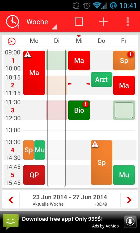 timetable stundenplan android apps auf google play. Black Bedroom Furniture Sets. Home Design Ideas