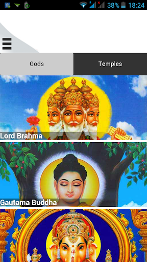 Gods Temples of India