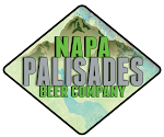 Logo of Napa Palisades 1849 Gold Rush Red