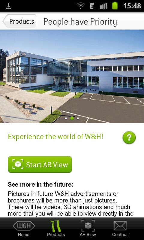 W&H AR (Augmented Reality) - screenshot