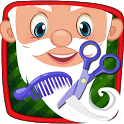 Santa Crazy Beard Salon - Kids icon