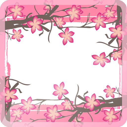 Sakura Flower Photo Frame HD 個人化 App LOGO-APP試玩