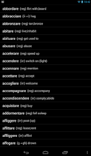 Italian Verbs- screenshot thumbnail