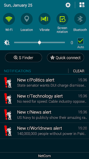 Push alerts from Reddit free