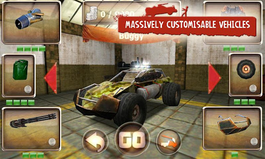 Screenshots of Zombie Derby for iPhone