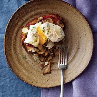 Mushrooms Tomatoes Eggs Recipes.