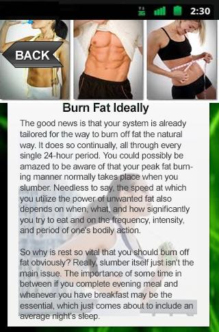 Burn Fat Ideally