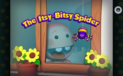 Itsy Bitsy Spider Reader in 3D