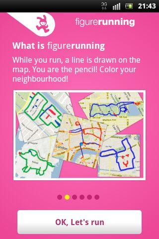 FigureRunning – screenshot
