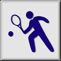 Tennis PRO Real Tracker logo