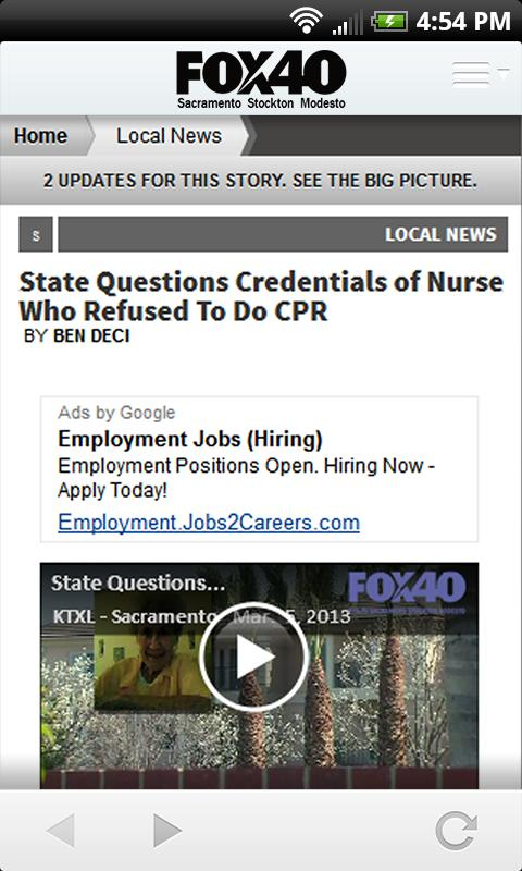 FOX40 News - Sacramento - screenshot