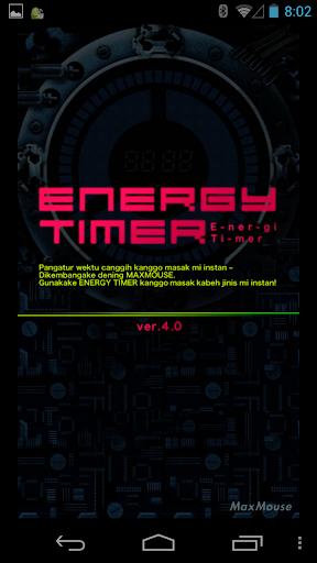 Energy Timer(Javanese/English) 4.0.1 Windows u7528 1