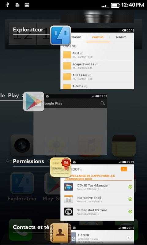 ICS Task Manager/Switcher FREE- screenshot