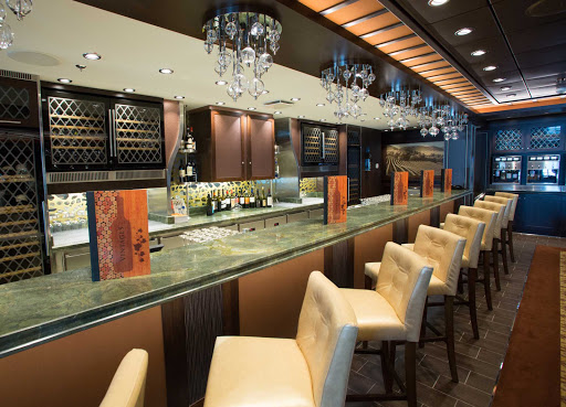 Quantum-of-the-Seas-Vintages-wine-bar - The Vintages wine bar on Quantum of the Seas.
