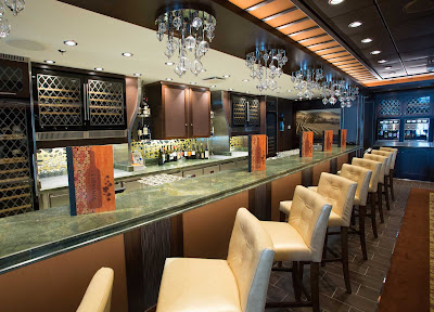 The Vintages wine bar on Quantum of the Seas.