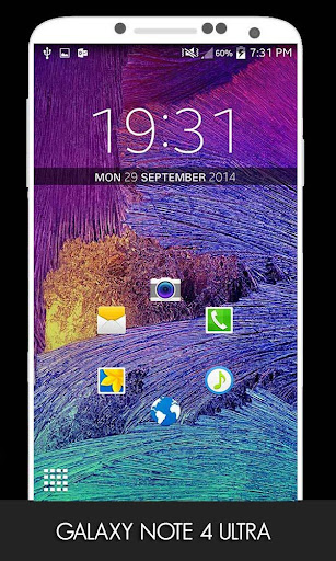 Galaxy Note 4 Ultra theme
