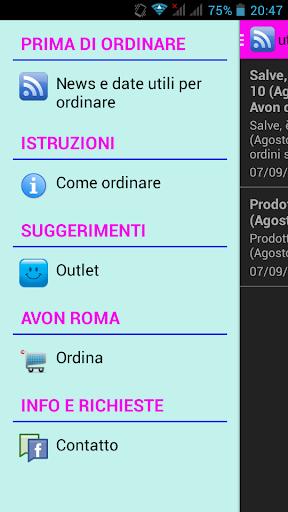 AVON Roma ordini