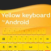 Keyboard for Android Yellow