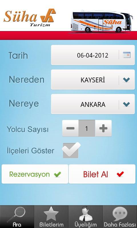 Süha Turizm- screenshot