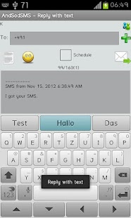 AndSod SMS- screenshot thumbnail
