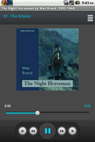 The Night Horseman Audio Book