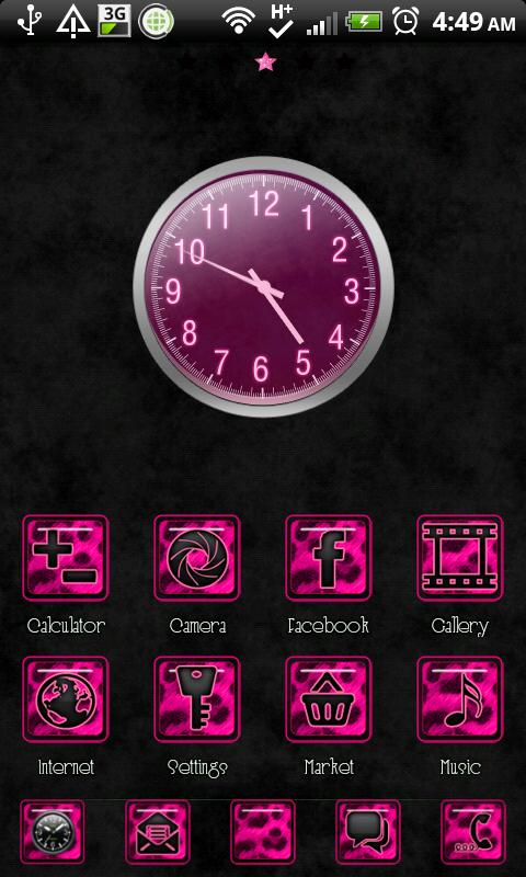 THEME - Pink Cheetah Full- screenshot