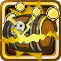 Pirate coin pusher 2D full icon