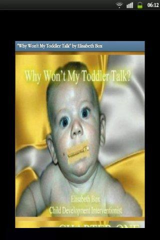 Why Won't My Toddler Talk