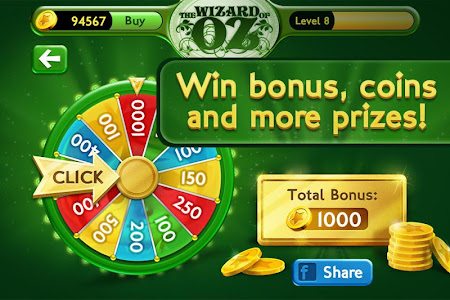 Slots Wizard of Oz 1.0.9 screenshot 38152