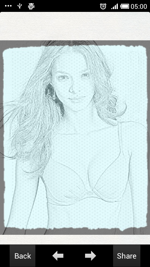Photo Effects&Portrait sketch - screenshot