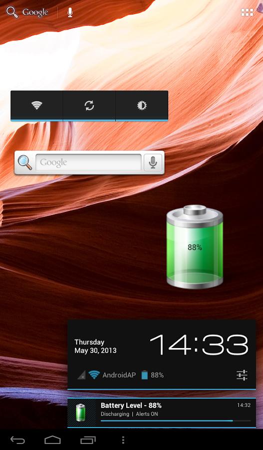 Battery Meter - screenshot