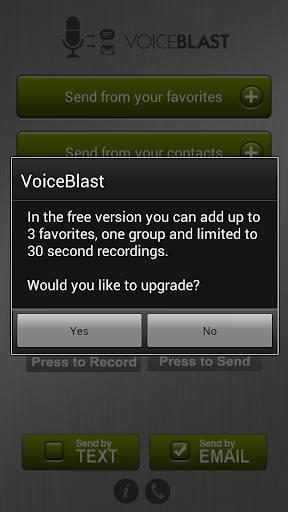VoiceBlast Free