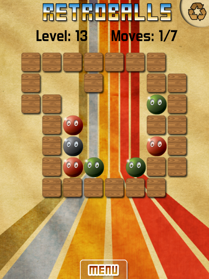 Retroballs- screenshot